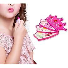 10 uñas postizas 10 adhesivos. 257395 Cajita de maquillaje en forma corona FASHION CORONA para niñas 3 niveles
