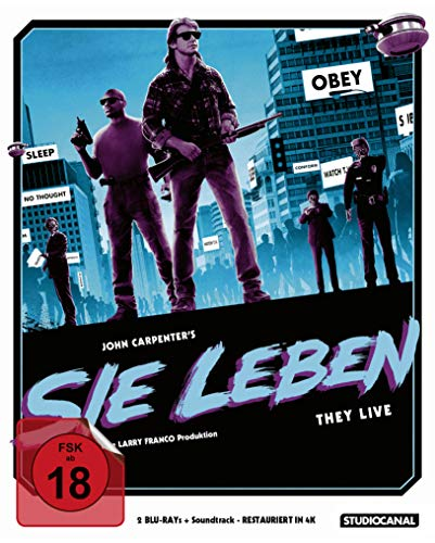 Sie leben / Limited Soundtrack Edition (+CD) [Blu-ray]