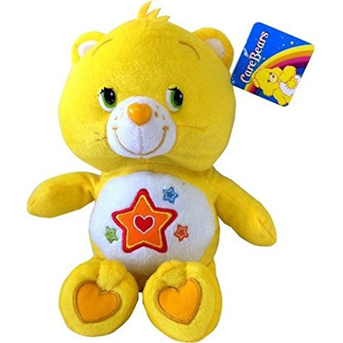 care-bears-stofftier-gelb-superstar-sterne-care-bear-12-zoll-stofftier