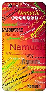 Namuchi (Kama permanent) Name & Sign Printed All over customize & Personalized!! Protective back cover for your Smart Phone : Oppo Find 7