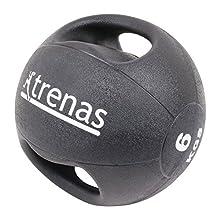 trenas - médecine-Ball Professionnel avec des poignées Pro - 6,00 kg