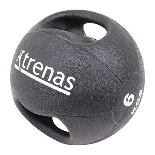Trenas Pro Balón Medicinal con Asas - 6 kg