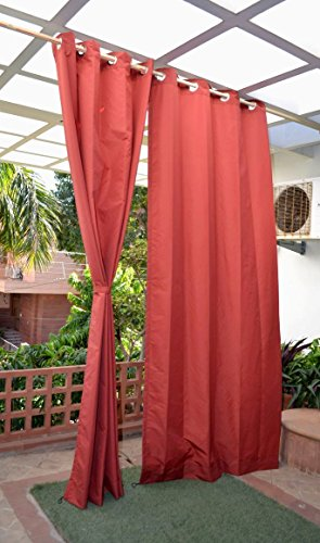 check MRP of red curtains HIPPO