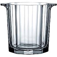 HONGLICubo de Hielo cristalino Original Europeo en el Cubo de Hielo de Cristal Cubo de Hielo de champán de Vino