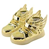 Shoes Best Deals - Zhhlingyuan Premium Multi-color Little Boys Grils Flashing sport Sneakers Shoes