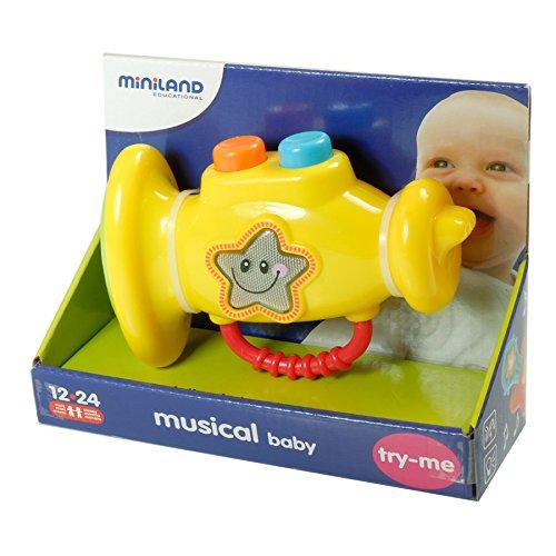 Miniland miniland9728124cm Baby Trompete Spieluhr
