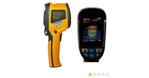 Wärmebildkamera Mit Entfernungsmesser : Holdpeak hp f wärmebildkamera infrarot thermometer bis