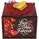 Wenzel Love You Forever Wooden Box Greeting Card