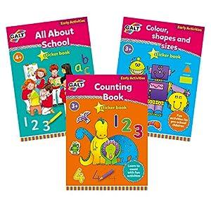 Galt Toys 1105521 Paquete de Aprendizaje para Contar, Multi