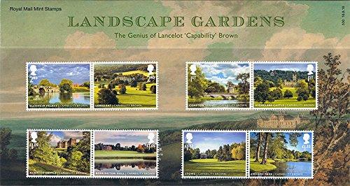2016-landschaft-garten-fahig-braun-briefmarken-in-prasentation-pack-pp503-bedruckt-nr-530-royal-mail
