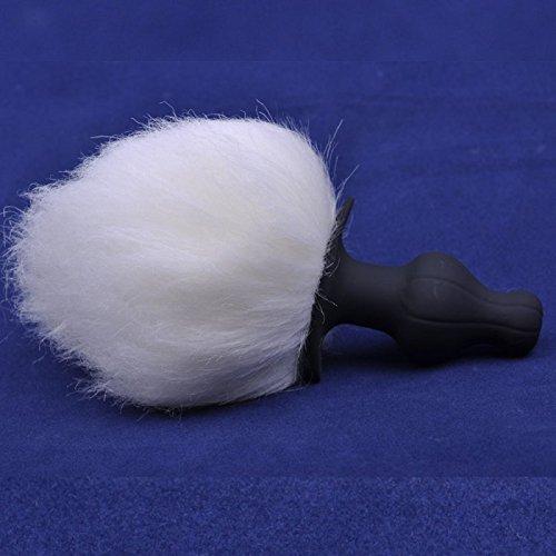 eeddoor-premium-anal-plug-mit-buschel-schwanz-17cm-silikon-butt-plug-stecker-dildo-real-dong-pluck-a