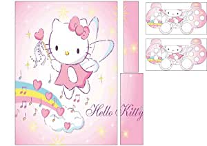 Stickers Skin PS3 + 2 MANETTES Hello Kitty Réf 30550