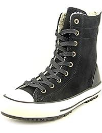 71b761435f76b Amazon.fr   converse cuir noir - Voir aussi les articles sans stock ...