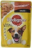 Pedigree Vital Protection/Hochwertiges Hundefutter mit Truthahn und Karotten in Sauce / 24 Beutel (24 x 100 g)