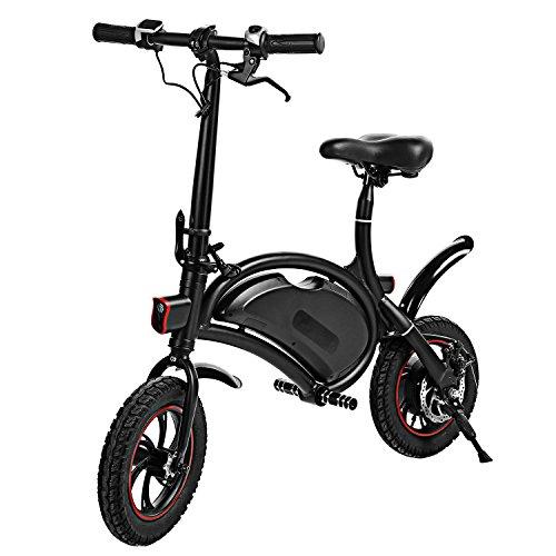 Befied Faltende Elektrofahrrad Wasserdicht Klapprad E-Faltrad App Kontrollierbar E-Bike 30km/h Bluetooth GPS Hinterradbremse Spannung: 350W 36V