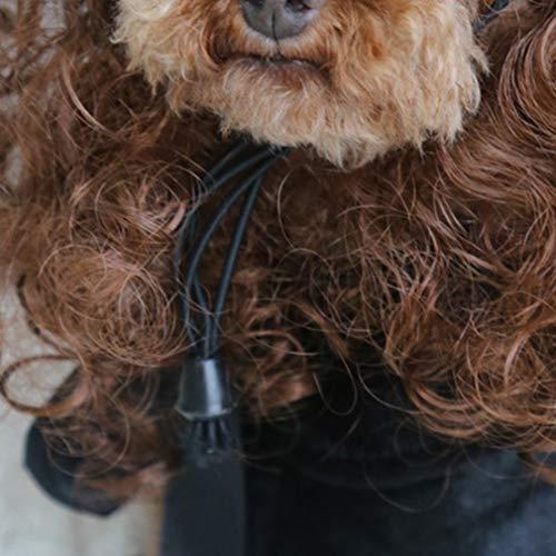 Hemore Kostüme der Hauskatze Mantel Perücke Hat Französisch Bulldog Hund Regenmantel Umhang Pet Sehr praktisch Feiertage und Geburtstage Mittelstück Ornament Saisonale Deko/Weihnachten