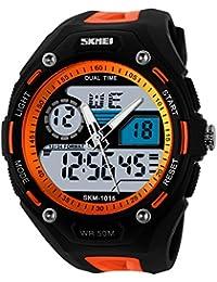 TTLIFE 1015 Unisexe Multi Function Quartz numérique LED Watch résistant à l'eau électroniques Montres Sport
