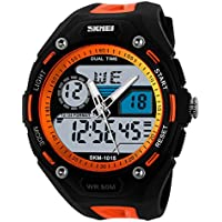 TTLIFE 1015 Quarzo Unisex Multi Function Digital LED Watch Water Resistant elettronici Orologi