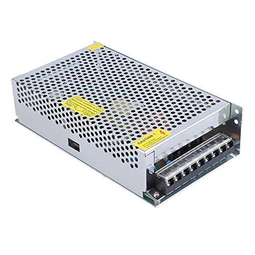 ICOCO 250W DC 24V 10A Trafo Transformator Adapter Netzteil Schaltnetzteil Stromversorgung für 3D Drucker , LED Beleuchtung Stripes , Industrieanlagen, CCTV Überwachungskameras uvm… 24v 10a Netzteil