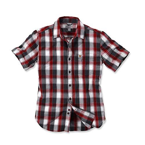 Carhartt Slim Fit Plaid Shirt S/S - Kurzarmhemd/Arbeitshemd - Baumwoll-plaid Arbeitshemd