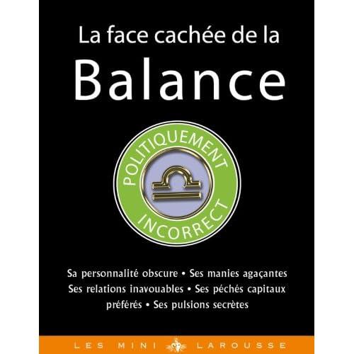 La face cachée de la Balance