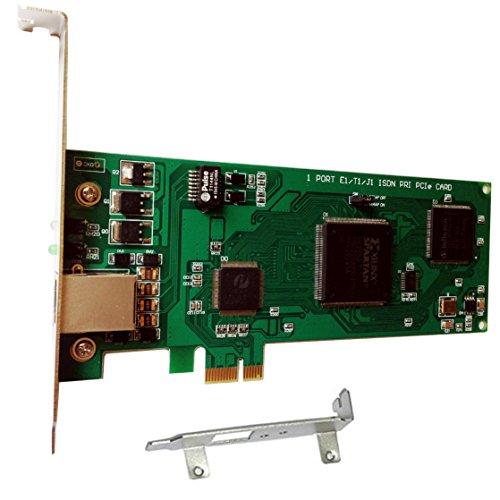 ISDN-Karte TE110E - Asterisk Karte mit 1 E1 ,PCI-E Karte,ISDN PRI E1 Karte Elastix,Freepbx