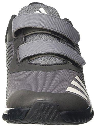 adidas Unisex-Kinder Fortarun Cf K Sneakers Grau (Grey/Ftwwht/Dkgrey)