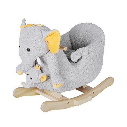 Knorrtoys 40372 - Schaukeltier Elefant Nele mit Sound inkl. Handpuppe