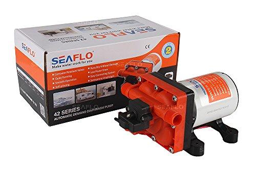 Seaflo 11,3LPM Wasser Pumpe mit Bypass für reduzierten Radfahren