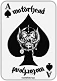 Motorhead Patch Ace of Spades Card Official Cotton Sew On 10cm x 7cm One Size