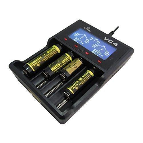 XTAR VC4 Ladegerät Premium-Li-Ion / Ladegerät