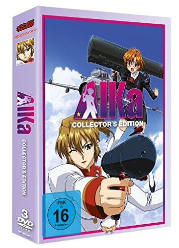 Agent Aika - Gesamtausgabe [2 DVDs] - Kontur Der Brust