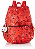Kipling D Citypack - Zaini Donna, Multicolore (Sketch Red)