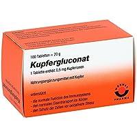 Kupfergluconat, 100 St. Tabletten preisvergleich bei billige-tabletten.eu