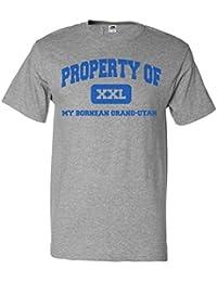 ShirtScope Property of My Bornean Orang-utan T shirt Funny Tee
