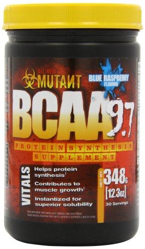 Mutant BCAA Blue Raspberry Supplement, 348 Gm