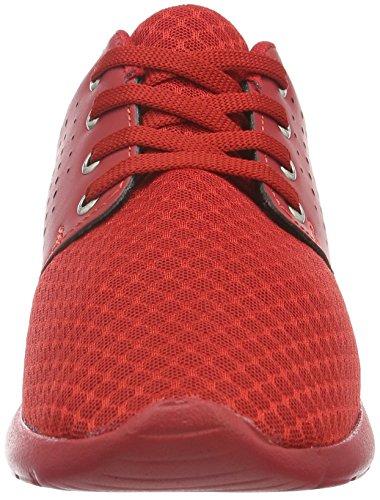 Tamboga Unisex-Erwachsene 111 Laser Low-Top Rot (Red 02)