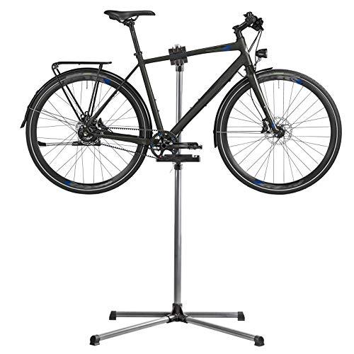 TronicXL 360° Montageständer Montage Fahrrad Halterung Ständer Höhe verstellbar einstellbar Fahrradhalterung Halter Zweibein Fahrräder Aufstellständer Radständer Fahrradständer Rad Garage