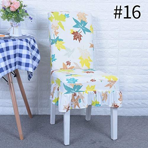 De Home Decoration Büro Computer Party Stuhl Sitzbezüge Moderne Lange Zurück Stuhlabdeckung Ruffled Spandex Stuhlhussen Für Hochzeiten Büro style16 -