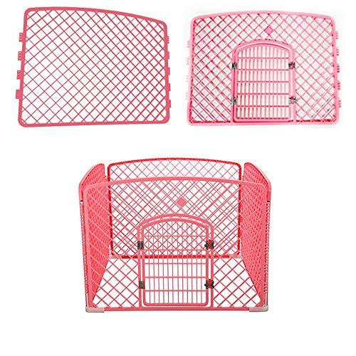 Barrière pour Animaux domestiques, Cage pour Chien de Petite et Moyenne Taille/Porte Amovible/Porte d'isolement, matériau PP - 3 Couleurs / 2 Tailles