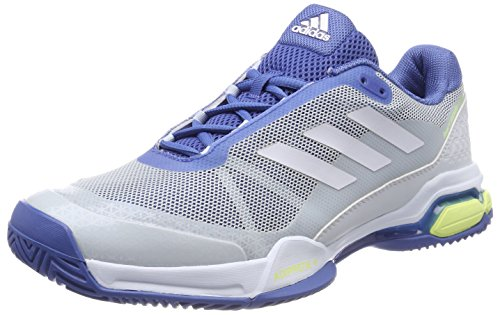 adidas Herren Barricade Club Tennisschuhe, Blau (Trace Royal/Footwear White/Semi Frozen Yellow), 44 2/3 EU