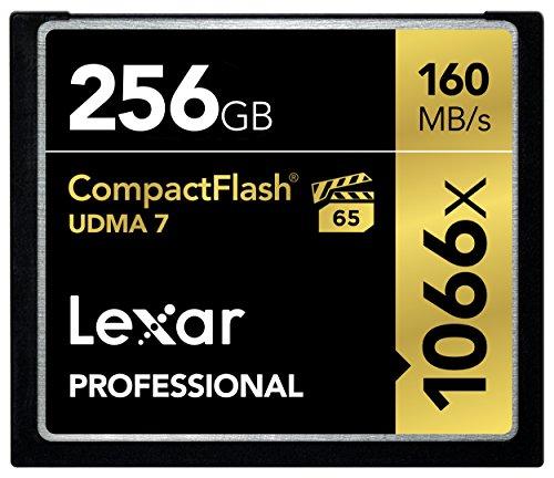 Lexar Professional 1066x 16GB VPG-65 CompactFlash-Karte 256GB (Lexar Memory Card 16gb)
