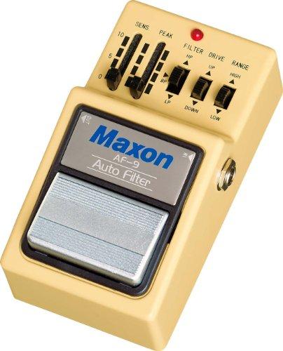 Maxon AF-9 Auto Filter · Pedal guitarra eléctrica