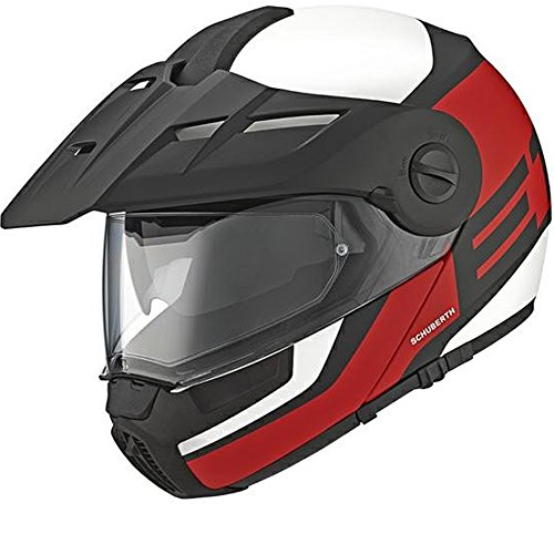 Preisvergleich Produktbild Schuberth E1 Guardian rot Motorradhelm