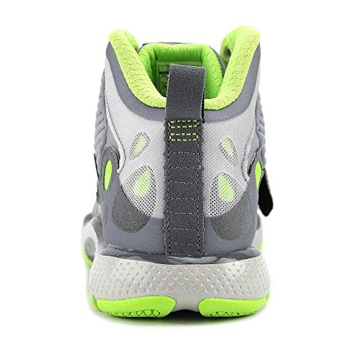 Under Armour BGS Micro G Gridiron TR Synthetik BasketballSchuh Grey/Green