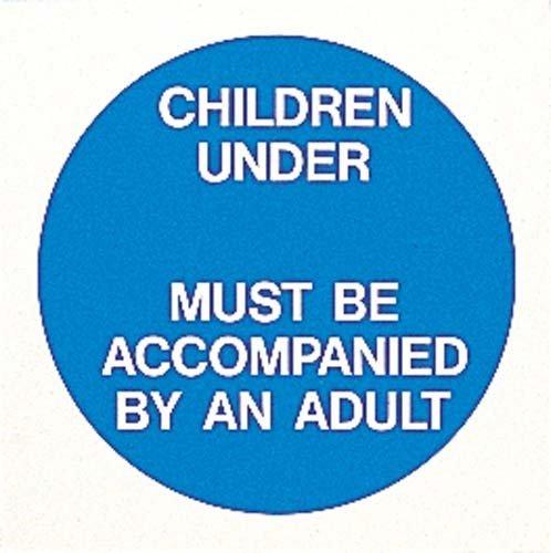 Nouveau Os de moins de piscine avec inscription Special-Sticker Panneau d'avertissement