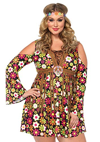 Kostüm Undercover - Leg Avenue 85610X Fasching Kostüm, Mehrfarbig, Größe: 1XL/2XL (EUR 46-50)
