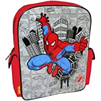 Trade Mark Collections Spiderman Comic Backpack School Bag (Red)