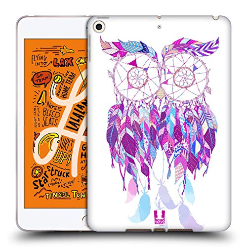 Head Case Designs Psychedelische Rosa Traumfänger 3 Soft Gel Huelle kompatibel mit iPad Mini (2019) - Psychedelische Mini