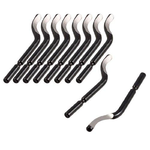 SODIAL(R)Reparatur-Teil Entgratet-Werkzeug BS1010 S10 Entgratmesser 10 Stueck
